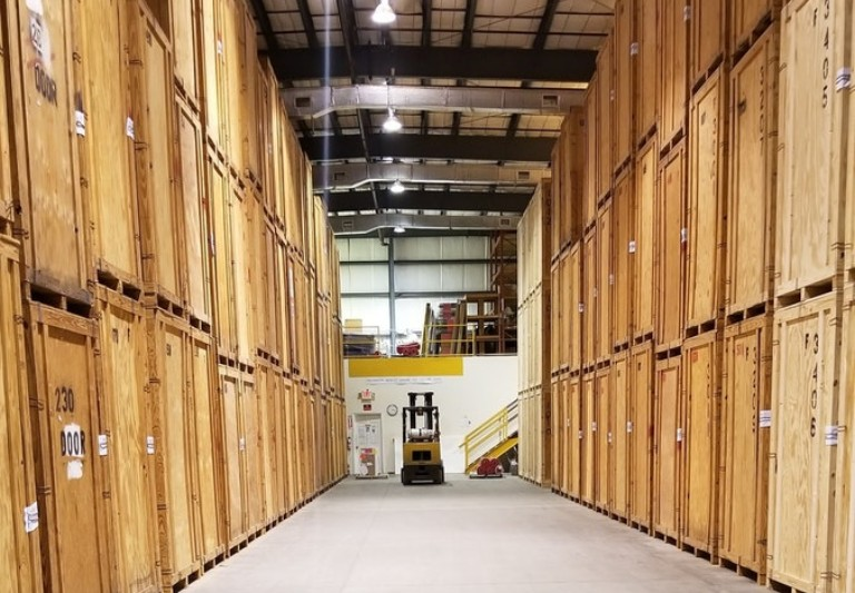 Modern Movers Storage Warehouse